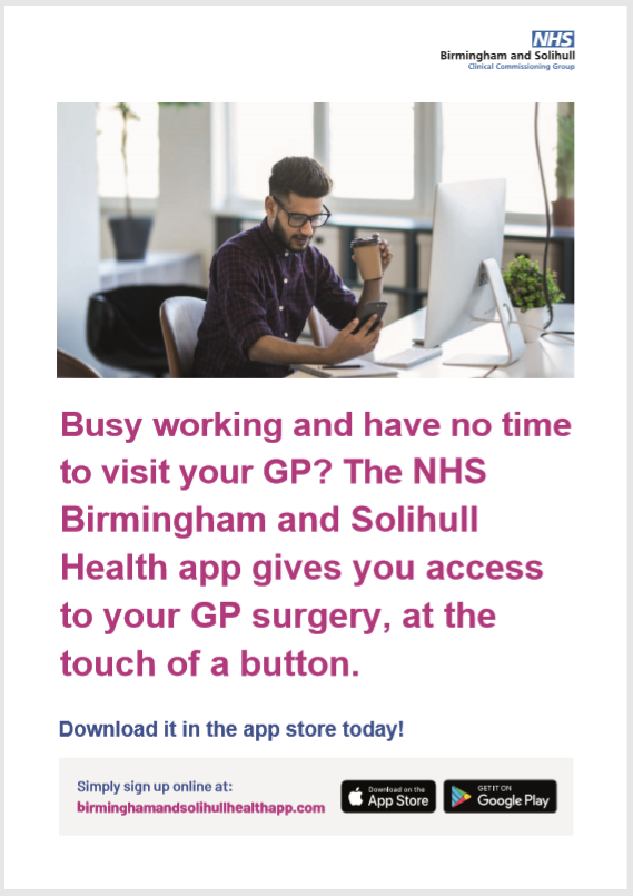 Birmingham and Solihull App